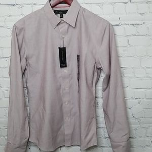 NWT Banana Republic non iron untucked fit shirt